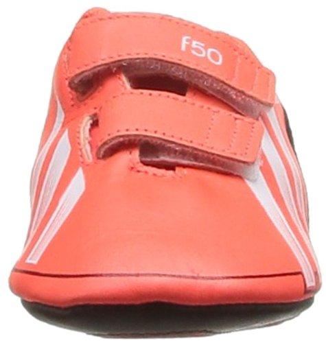 adidas F50 Adizero Crib, Baby Jungen Babyschuhe - Lauflernschuhe Rouge (Infra Red/Noir/Blanc)