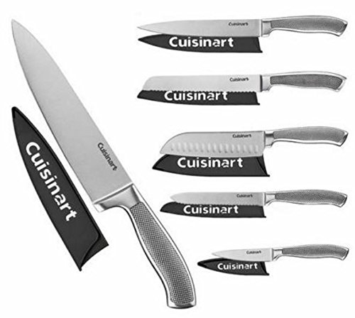 Cuisinart Classic 6pc German Stainless Steel Knives with Bla