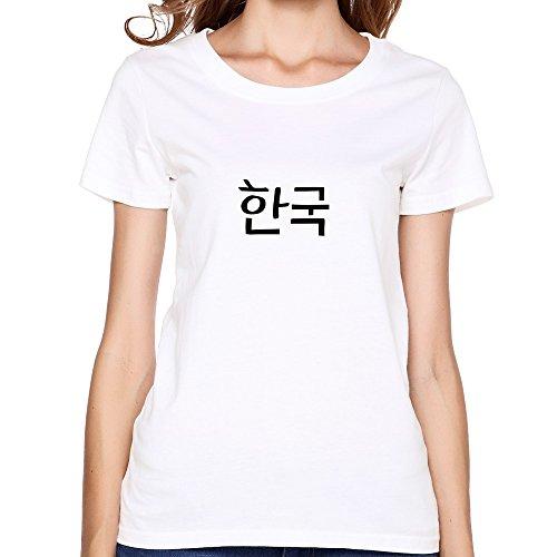 women-s-korea-in-korean-txt-vector-art-tshirtwhite-t-shirts-by-hgiorgis-l-white