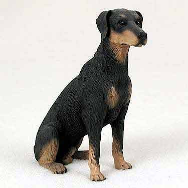 (Doberman Figurine Black Uncropped)