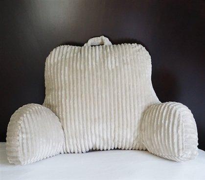DormCo Bedrest Textured Comfort - Almond