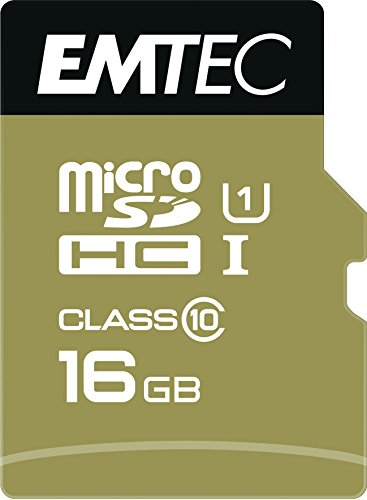 Emtec Microsdhc 16GB Class10 Gold +