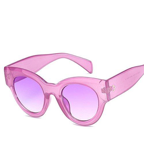 Aoligei Mode de lunettes de soleil réflectorisé personnalité européenne et américaine de marée homme rue clap lunettes de soleil rétro le grand cadre Sungla Petites entreprises D