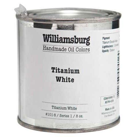 Williamsburg Handmade Oils - Williamsburg Handmade Oil Color - 8 oz. Jar - Indanthrone Blue by Williamsburg Handmade Oils