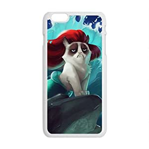 Red hair cat mermaid Cell Phone Case for Iphone 6 Plus