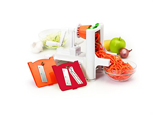 Farberware 5163767 Spiraletti Spiral Vegetable Slicer with Three Colored Blades