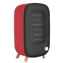 Libina Mini Heater/Desk Top Household/Desktop Heater/Household Electric Heater/Six-Speed Adjustment Ceramic Heating,Red