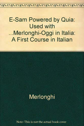Oggi in Italia: A First Course in Italian 8th Edition (Italian Edition)
