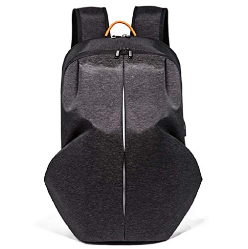 Backpack Resistente Mochila Puerto Bookbag Mujeres Negro Agua De Con Al Kaimeng School Portátil Business Para Carga negro Computer Usb qCRwAA