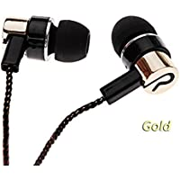 Mutiple Colors Stereo Bass Earphone Braid Cable Microphone For Mobile Phone