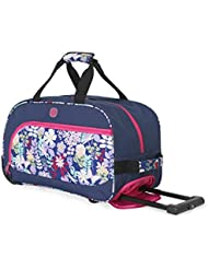 SwissGear Girls Floral Duffel Bag, Print, One Size