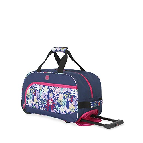 SwissGear Girls Floral Duffel Bag