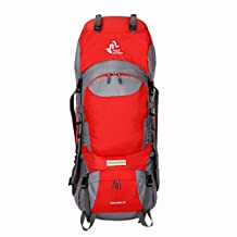 Free Knight 60L Hiking Mountaineering Camping Trekking Travel Daypack Internal Frame Backpack Rucksack Water Resistant Outdoor Backpack
