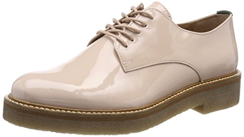 Kickers Oxfork, Derbys Femme Beige (Chair Vernis)
