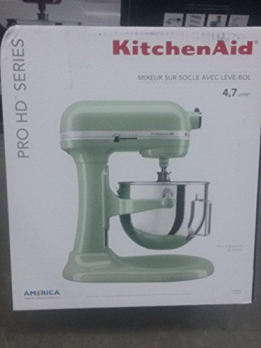 Kitchenaid Professional HD Series 525 Watt Mixer Pistachio Green KG25HOXPT (Hd Aid Mixer Professional Kitchen)