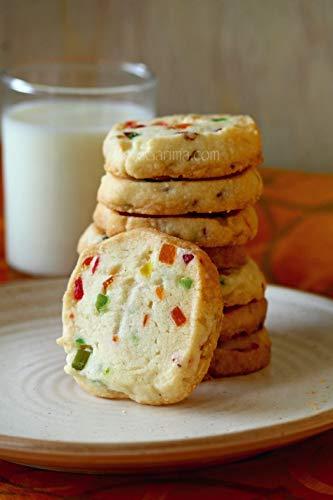 - Vegetarian Eggless Muesli Nuts & Fruits Cookies - 250g by GraceBasket