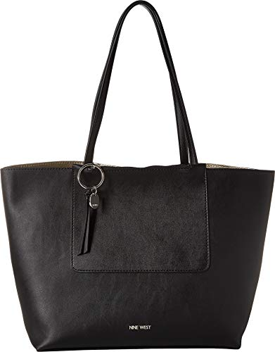 Nine West Women's Nylah Tote Black One Size (West Handbags Nine)