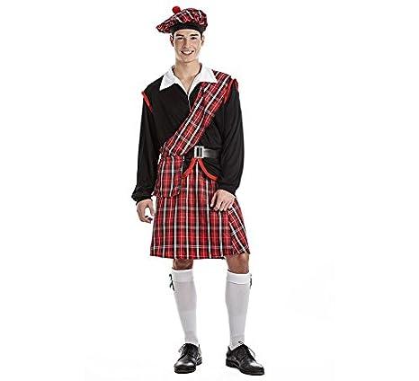 Disfraz de Escocés Talla M/L