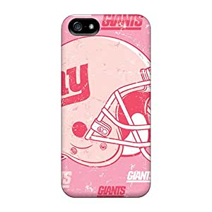 Premium Tpu New York Giants Covers Skin For Iphone 5/5s