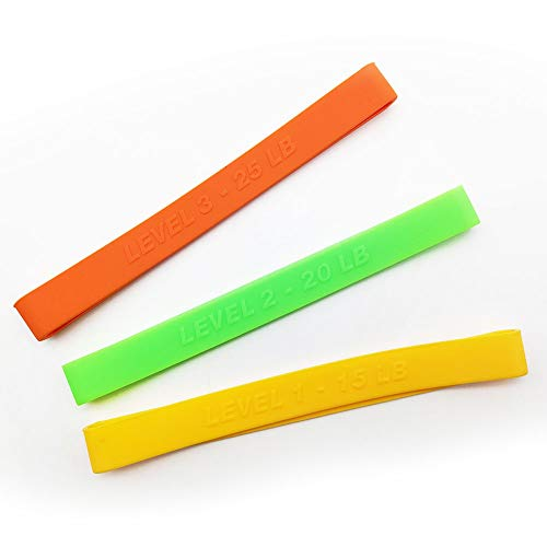 LETTON Elastic Bands for Arm Workout Machine, Set of 3