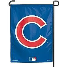 "MLB Chicago Cubs C Logo Garden Flag, 11""x15"", Team Color"