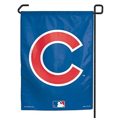 WinCraft MLB Chicago Cubs C Logo Garden Flag, 11