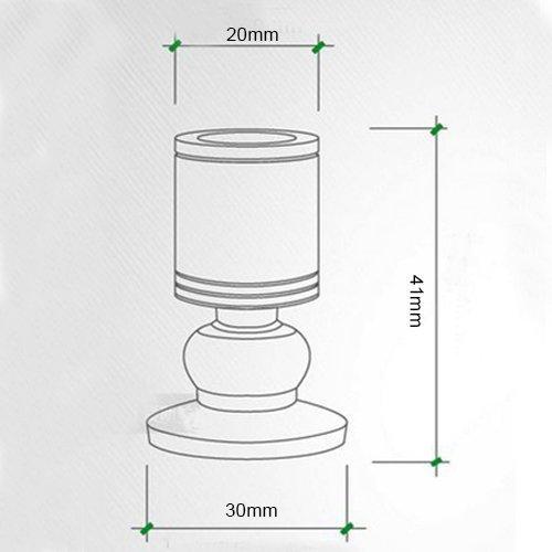 Jorunhe 1 watt Weiße LED Mini Oberfläche Montiert Licht Schmuck Scheinwerfer Schrank Lampe Scheinwerfer Schmuck Ac85-265v 4fe4b3