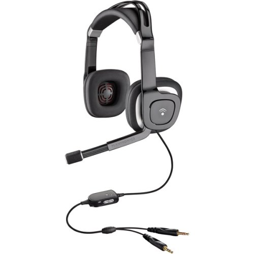 Plantronics Multimedia Stereo Headset (Music, Gaming, Voice) (Audio 350)