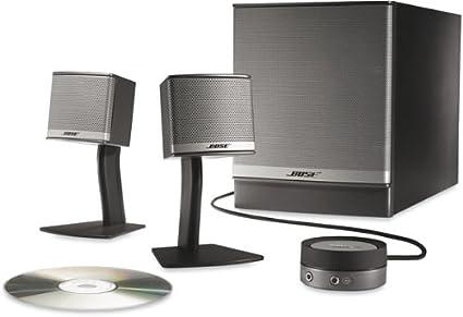 amazon com bose companion 3 series ii multimedia speaker system rh amazon com