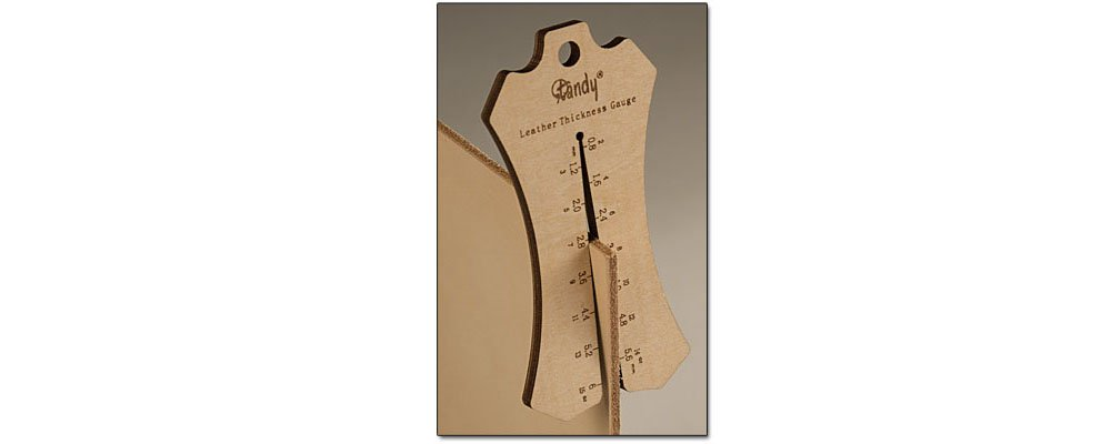 Tandy Leather Leather Thickness Gauge 3951-00
