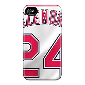Protector Hard Cell-phone Case For Iphone 6 With Allow Personal Design Stylish Cleveland Indians Image DrawsBriscoe