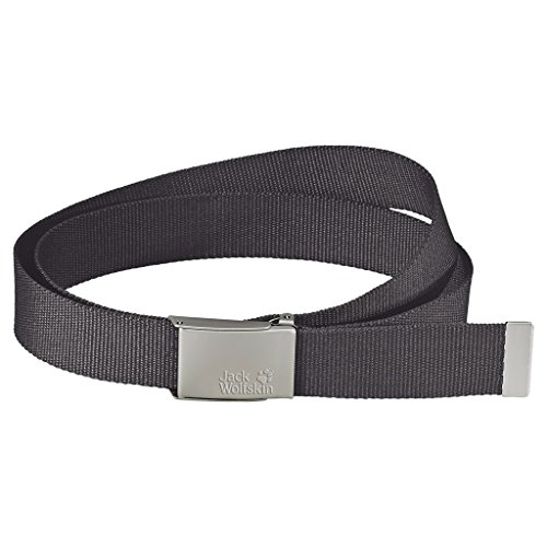 Jack Wolfskin Webbing Wide Belt, Dark Steel by Jack Wolfskin