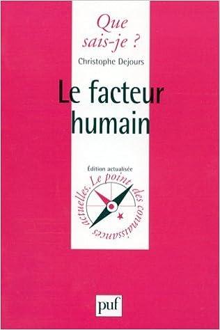 Livres gratuits en ligne Le facteur humain pdf epub