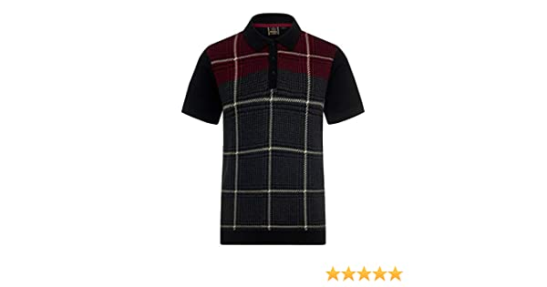 Merc of London Tetley, Polo para Hombre, Gris (Marl Charcoal) S ...