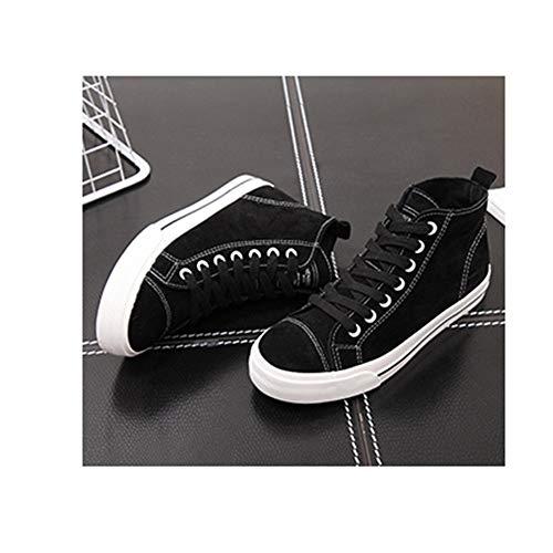 Eu40 cn41 Appartements Et couleur Noir Yiwu uk7 Étudiants Sport Chaussures Noir Pour Mocassins Size De HwOPqT4