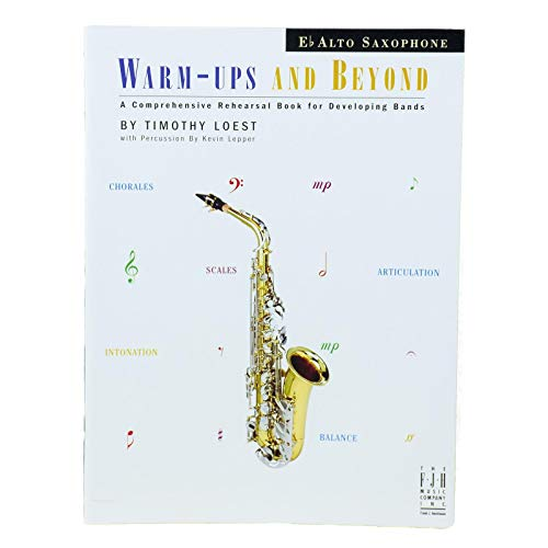 Warm-Ups And Beyond - Alto Saxophone by FJH Music