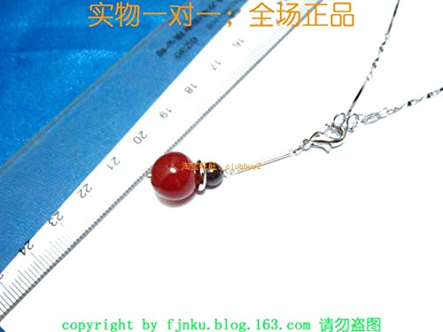 Garnet Clasp - usongs 12MM 7MM natural garnet red agate necklace pendant with lobster clasp necklace pendant multi - without necklace