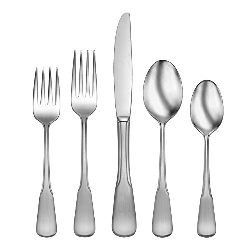 Colonial Finish - Oneida Colonial Boston 20-Piece Flatware Set, Service for 4