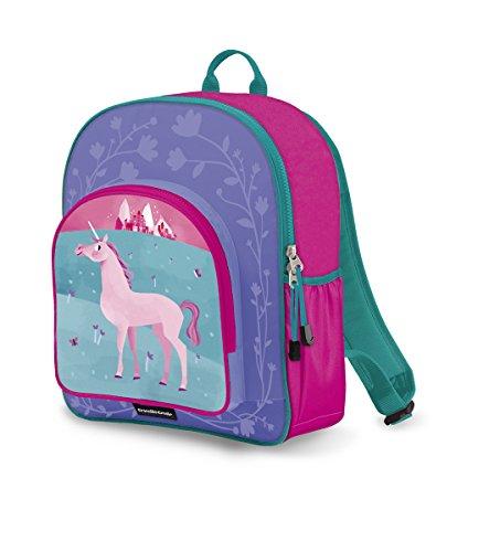 Crocodile Creek Girls Eco Unicorn School Backpack, Pink, 14