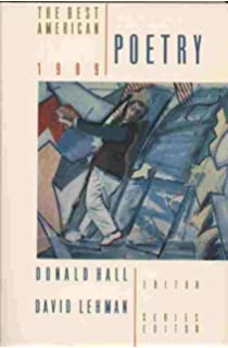 The Best American Poetry 1996: David Lehman, Adrienne Rich ...