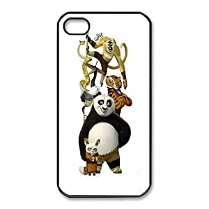 iphone 4 4s Cell Phone Case Black Kung Fu Panda_004 Gift P0J0Z3-2405162