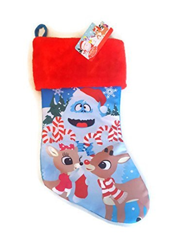 Rudolph The Red Nosed Reindeer & Clarice Bumble Christmas Stocking -