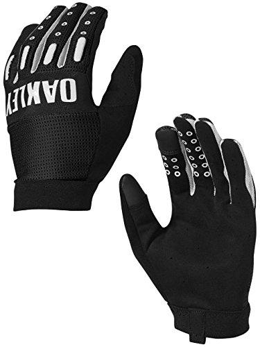 Oakley Mens Factory Lite 2.0 Gloves Large Jet - Bicycle Oakley