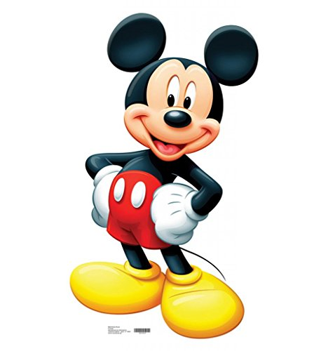 Mickey Mouse - Advanced Graphics Life Size Cardboard - Cardboard Mouse Mickey