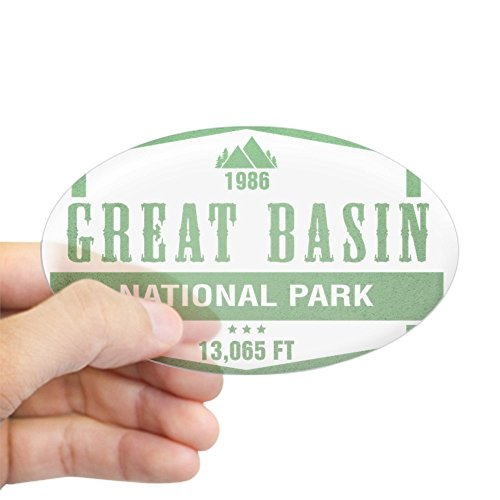 - CafePress Great Basin National Park, Nevada Sticker Oval Bumper Sticker, Euro Oval Car Decal