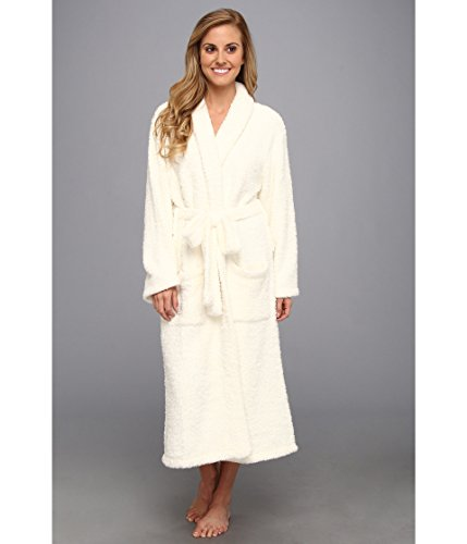 (Barefoot Dreams CozyChic Adult Robe - Pearl (Size 3))
