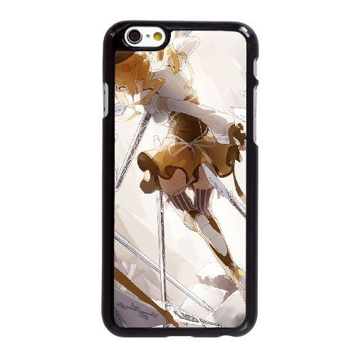 S5N18 Tomoe Mami D6X5LA coque iPhone 6 Plus de 5,5 pouces cas de couverture de téléphone portable coque noire DG6IVV7ME