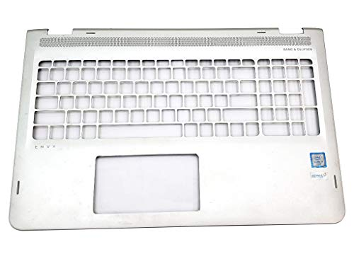 Laptop Top Cover Palmrest Without Touchpad and Keyboard 857283-001 for HP Envy X360 15-AQ 15T-AQ M6-AQ Series ()