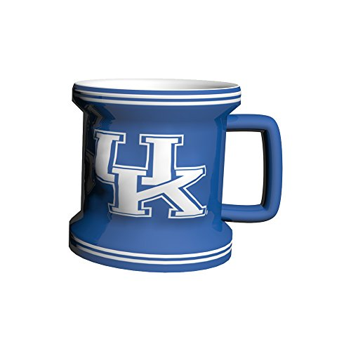 NCAA Kentucky Wildcats Sculpted Mini Mug, 2-ounce