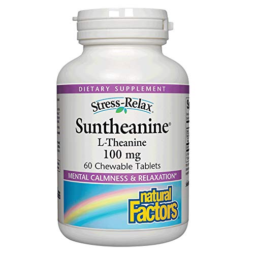 Stress-Relax Chewable Suntheanine L-Theanine